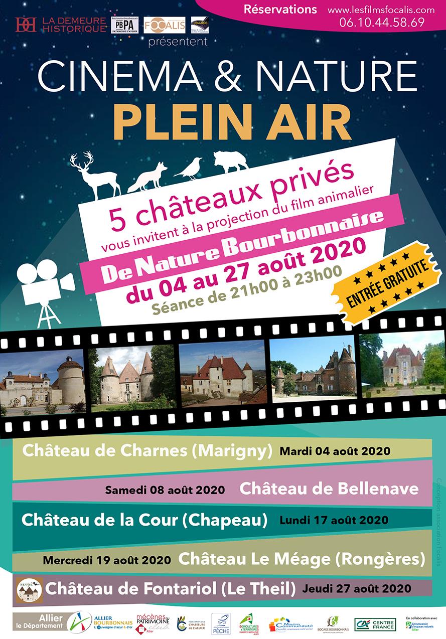 Flyer Châteaux et nature bourbonnaise V6